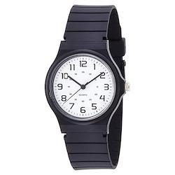 Field work フィールドワーク ハーヴィー WH ホワイト DT108-1 シンプル ブラック 黒 樹脂 スポーティ  腕時計 メンズ レディース キッズ ユニセックス