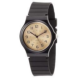 Field work フィールドワーク ハーヴィー GD ゴールド DT108-18 ゴールド 金 ブラック 黒 樹脂 シンプル 腕時計 メンズ レディース キッズ ユニセックス