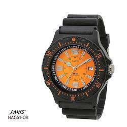ジェイアクシス J-AXIS サン・フレイム 10気圧防水腕時計 メンズ NAG51-OR