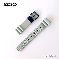 GRAND SEIKO グランドセイコー 紳士用 純正 ラバーバンド 樹脂 替えバンド 交換用ベルト SBBN029用 グレー ウレタン R01X017M9 お取り寄せ